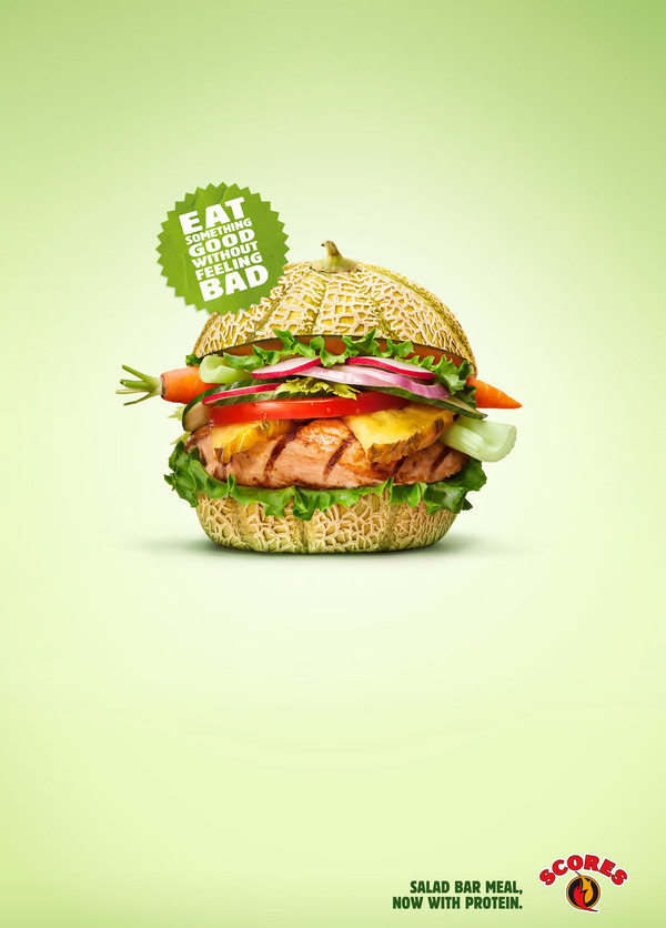 fast food advertising Commercials for fast food are simply inescapable we see them almost every time we watch television, flaunting their glossy burgers, fries, shakes, and whichever other product du jour they're looking to hype up.